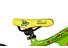 Ghost Powerkid 12 Barncykel gul/grön